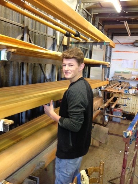 First apprentice starts at Collars